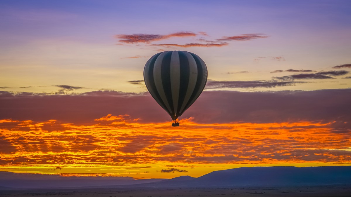 Balloon Safari Sunset
